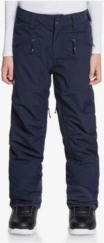Quiksilver Boundry Youth PT snowboardové kalhoty modrá