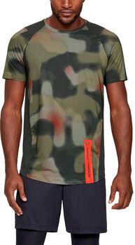 Under Armour MK1 SS Printed M tréninkové tričko Pánské zelená