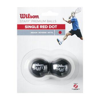 Wilson Staff Squash Ball červená