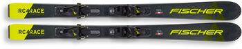 Fischer RC4 Race dětské sjezdové lyže bez vázání černá