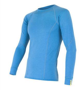 Sensor Merino Active Long Sleeve termo tričko Pánské modrá