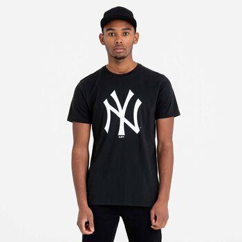 New Era MLB Team Logo tričko Pánské černá