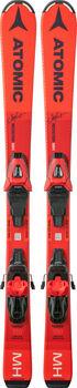 ATOMIC Redster MH Junior sjezdové lyže bez vázání růžová