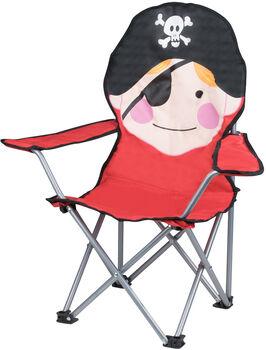 McKINLEY Dětská skládací židle červená