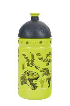 Zdravá lahev Dinosauři 0,5l láhev zelená