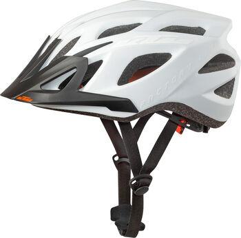 KTM Factory Line cyklistická helma bílá