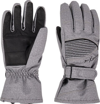 Dámské lyžařské rukaviceBrenna, Aquamax, kož.dlaň