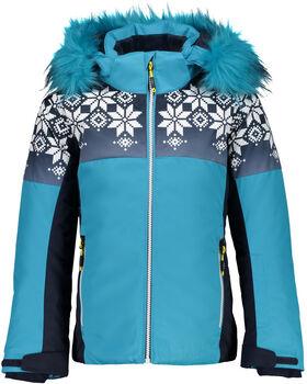 CMP Girl Jacket Snaps Hood lyžařská bunda modrá