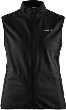 Craft Warm Vest softshellová vesta Dámské černá