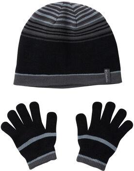 Columbia Youth hat and glove set Pánské černá