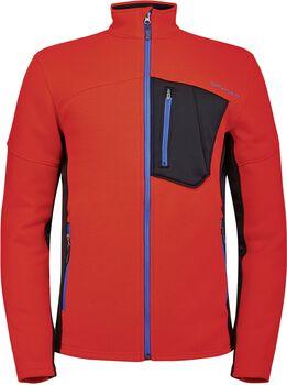 Spyder Bandit Hybrid fleecová bunda Pánské červená