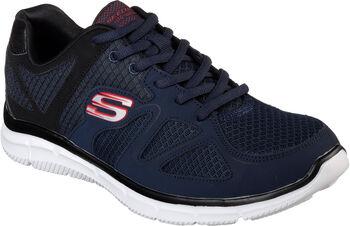 Skechers  Pán.fitness obuvSatisfaction - Flash Point Pánské modrá