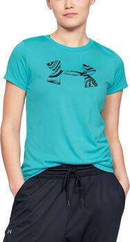 Under Armour Tech SSC Graph tréninkové tričko Dámské modrá