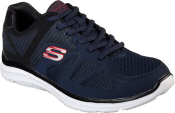 Skechers  Pán.fitness obuvSatisfaction - Flash Point Pánské modrá