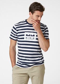 Helly Hansen Tokyo volnočasové tričko Pánské modrá