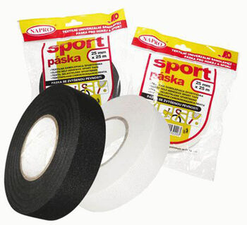 Tempish 25 x 25 mm páska na hokejku bílá