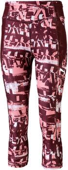 Puma Runtrain AOP 3/4 Leg Dívčí růžová