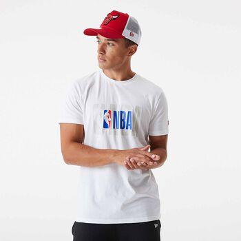 NEW ERA Pán.tričko NBA Logo   Pánské bílá