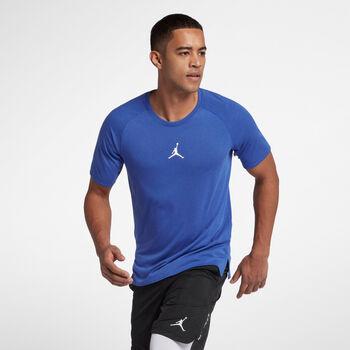 Nike M Jordan 23 Alpha Shortsleeve Top M Pánské modrá