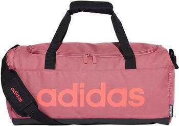 adidas Linear Logo Duffel červená