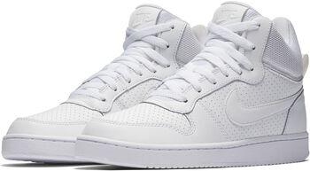 Nike Court Borough Mid volnočasové boty Dámské bílá