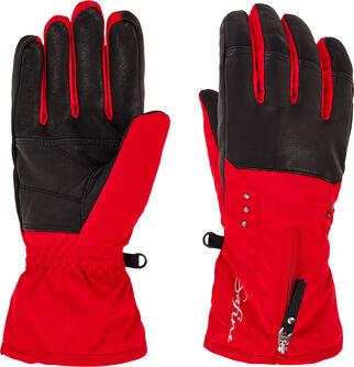 Dámské lyžařské rukavice Daria, Aquamax, kožená dlaň