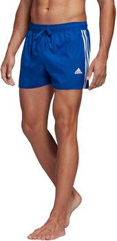 adidas 3-Stripes CLX plavecké šortky Pánské modrá