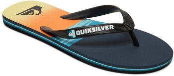 Quiksilver Molo Hold Down žabky Pánské černá