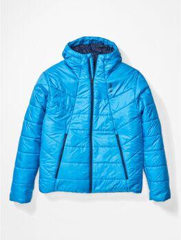 Marmot WarmCube Featherless Hoody outdoorová bunda Pánské modrá
