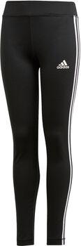 adidas Training Equipment 3-Stripes Přiléhavé kalhoty Dívčí černá