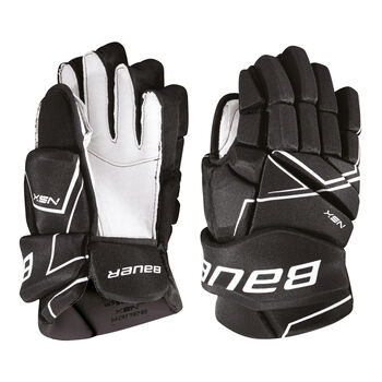 BAUER  NSX Sr.Hokejové rukavice Pánské černá
