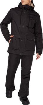 FIREFLY Derek Superpipe lyžařská bunda Pánské černá