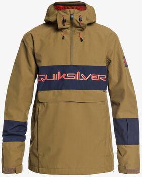 Quiksilver Steeze JK zimní bunda Pánské zelená