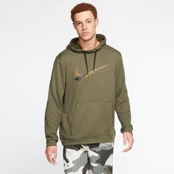 Nike M Nk Dry Hoodie PO Swoosh Pánské zelená