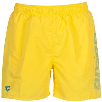 Arena Fundamental koupací šortky Pánské žlutá