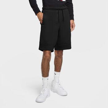 Nike JORDAN Jumpman Air Fleece kraťasy Pánské černá