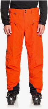 Quiksilver Snowboardhose snowboardové kalhoty Pánské oranžová