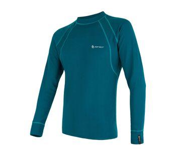 Sensor Double Face Long Sleeve termo tričko Pánské modrá