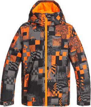 Quiksilver Morton Youth snowboardová bunda  oranžová
