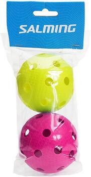 Salming   Colour2 florbalové míčky bílá