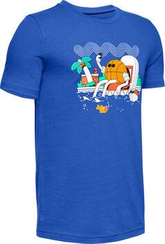 Under Armour Mr. Buckets sportovní tričko modrá