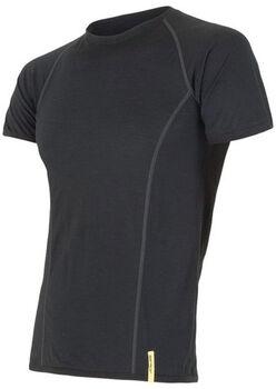 Sensor Merino Active T-Shirt termo tričko Pánské černá