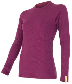 Sensor Merino termo tričko Dámské fialová