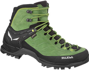 Salewa MS MTN Trainer Mid GTX Pán.trekingová obuv Pánské zelená