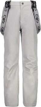 CMP Kid Salopette lyžařské kalhoty šedá