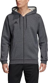 adidas Core18 Full-Zip hoody Pánské šedá