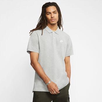 Nike Sportswear Polo sportovní tričko Pánské šedá