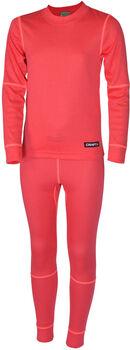Craft Baselayer Set sada termo prádla červená