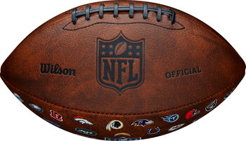 Wilson NFL 32 Team Logo hnědá