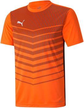 Puma Play Graphic tričko na fotbal Pánské oranžová